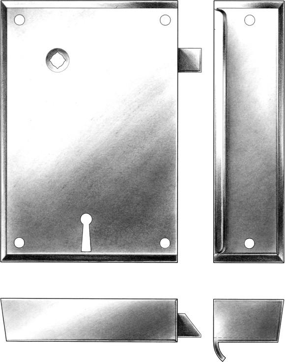 Rim Locks | E R  Butler & Co